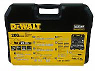 Dewalt DWMT75000 200 Piece Mechanics Tool Set Sockets Wrenches