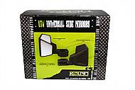 Kolpin 98330 Universal Quick Attach Vibration Dampening UTV Folding Side Mirrorss