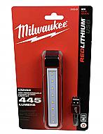 Milwaukee 2112-21 USB Rechargeable RedLithium Rover Pocket Flood Light