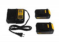 Dewalt DCB201 Lithium-Ion Battery Two pack & Dewalt DCB107 20V/12V Charger