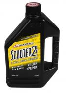 Maxima 26901 Scooter 2T 2-Stroke Premix/Injector Oil - 1 Liter Bottle