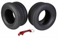 Kenda 235Q2076 20x10-10 Hole-N-1 6 Ply Tubeless Golf Cart Turf Tires 2 Pack