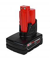 Milwaukee 48-11-2460 M12 REDLITHIUM XC6.0 AH Extended Capacity Battery