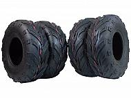 New 145/70 MASSFX Go-Kart,mini bike, ATV, Lawn Tires 145x70-6 145x70x6 4 pack