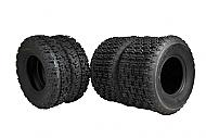 MASSFX 21x7-10 Front 20x11-9 Rear ATV 4 PLY Tire Set 4 Pack