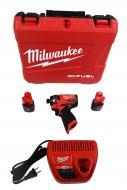 Milwaukee 2553-22 M12 FUEL 12-V Brushless Cordless 1/4 in. Hex Impact Driver Kit