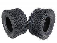 MASSFX SL201010(x2) 4 PLY Golf Cart Turf Tires 20x10-10, Set of two (2)Tires