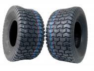 MASSFX 18x8.50-8 Lawn Mower Tires 4ply 2 Pack