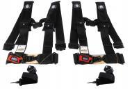 Pro-Armor-A115230-x2-5-Point-3inch-Harness-with-Sewn-in-Pads-Black-2-PACK-image-1