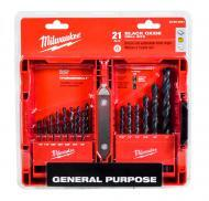 Milwaukee Tool 48-89-2801 Jobber Length Drill Bit Set 1/16 - 1/2 Inch Thunderbolt