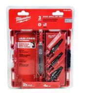 Milwaukee 48-89-9221 Step Bit 3-Piece Set (#1, 2, 4)