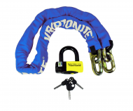 New York FAHGETTABOUDIT Chain 1415 (14mm x 150cm) with NY Disc 15mm Shackle (Blue)