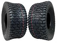 MASSFX 15x6-6 Go-Kart Tires 4ply 2-Pack