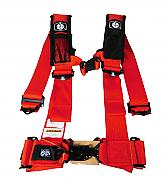 "Pro Armor A115230RD 5 Point 3"" Harness with Sewn in Pads - Red"