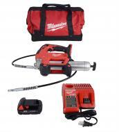 Milwaukee 2646-21ct M18 18 Volt Cordless Grease Gun Kit