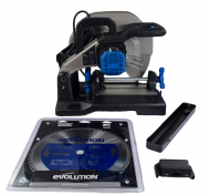 """Evolution Power Tools S380CPS 15"""" Metal Cutting Chop Saw W/ 14"""" Blade"""