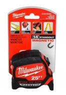 Milwaukee 48-22-0225 25 ft. x 1.3 in. Wide Blade Tape Measure with 17 ft. Reach