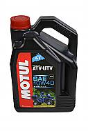 Motul105879 4T 10W40 Motor Oil for 4 Stroke ATV/UTV Engines 4L/4.22 Quarts Can