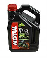 Motul 105939Motor Oil ATV UTV Expert 10W40 4L/4.22 Quarts Can