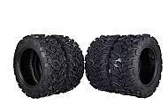 MASSFX 4 Set ATV Tires 26x9-14 Front 26X11-14 Rear Durable Dual Compound 6-Ply