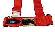 Pro-Armor-A114230RD-4-Point-3inch-Harness-with-Sewn-in-Pads-Red-image-3