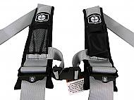 Pro-Armor-A114230SV-4-Point-3inch-Harness-with-Sewn-in-Pads-Silver-image-2