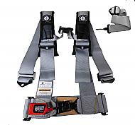 "Pro Armor A115230SV 5 Point 3"" Harness with Sewn in Pads - Silver"