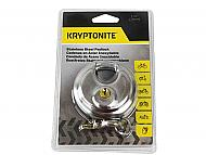 Kryptonite 850434 Stainless Steel Disc padlock with Key 70mm S.S