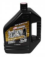 Maxima-349128B-Syn-Blend4-10W-40-Motorcycle-Engine-Oil-1-Gallon-Jug-image-1