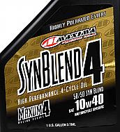 Maxima-349128B-Syn-Blend4-10W-40-Motorcycle-Engine-Oil-1-Gallon-Jug-image-4