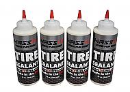 MASSFX Premium Flat Preventer Tire Sealant Made in USA (32 oz) 4Pack