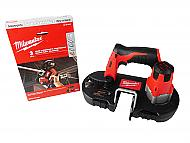 Milwaukee M12 Sub-Compact Cordless Band Saw with18 TPI Band Saw Blade