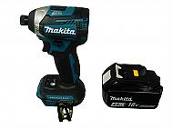 Makita-XDT14Z-18V-1-4-Impact-Driver-with-BL1840B-Battery-Pack-image-1