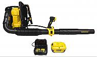 Dewalt DCBL590X1 40v Max 7.5 Ah Lithium Ion Xr Brushless Backpack Blower