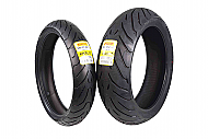 Pirelli 2595800 Angel ST EMS Front Tire - 120/60ZR17 (17) with Pirelli 1868500 Angel ST Tires 180...