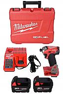 Milwaukee 2760-22 M18 FUEL SURGE 1/4inch Hex Hydraulic Driver Kit