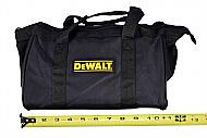 Dewalt Tool Bag for 12V tools or small kits 11inch Bag yellow and black
