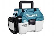 Makita XCV11Z 18V LXT Lithium-Ion Brushless Cordless 2 Gallon HEPA Filter Vacuum