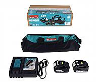 Makita BL1850B2DC2X 18V Lithium-Ion Dual Port Charger 5.0Ah Battery 2 Pack & Bag