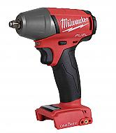Milwaukee 2758-20 M18 FUEL 3/8inch Compact Impact Wrench w/ Friction Ring; Torque = 210 ft-lbs (2...
