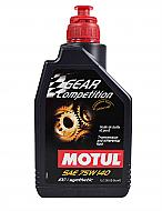Motul 105779 Full Synthetic Gear Competition SAE 75W140 Oil 75W-140 - 1 Liter - 1 Pack