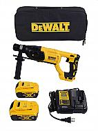 Dewalt DCH133M2 Rotary Hammer Kit 20V Max XR Brushless 1 D-Handle
