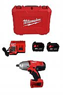 Milwaukee 2663-22 M18 18V Cordless 1/2 in. Impact Wrench W/ Friction Ring Kit