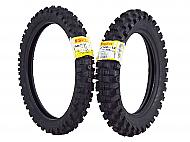 Pirelli Scorpion MX Extra J 60/100-14 Front 80/100-12 Rear Pit Bike Motorcycle Tires Set
