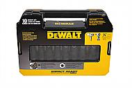 "Dewalt Socket Set 1/2"" 10 PC Impact Deep SAE"