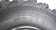 Kenda-Bear-Claw-EX-25x8-12-Front-ATV-6-PLY-Tire-Bearclaw-25x8x12-Single-Tire-image-4
