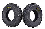 Kenda Bear Claw EX 25x8-12 Front ATV 6 PLY Tires Bearclaw 25x8x12 - 2 Pack
