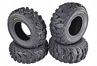 Kenda Bear Claw EX 27x10-12 F 27x12-12 R ATV 6 PLY Tires Bearclaw - 4 Pack Set