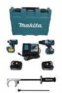Makita XT267T 18V LXT Lithium-Ion Brushless Cordless 2-Pc. Combo Kit (5.0Ah)