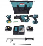 Makita XT336T 18v LXT Lithium-ion Brushless Cordless 3-pc. Combo Kit